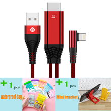 TOTU for Line Adapter Radius to HDMI iPhone x 6 7 8 xs max ipad 3 m Cable 4K TV AV Video
