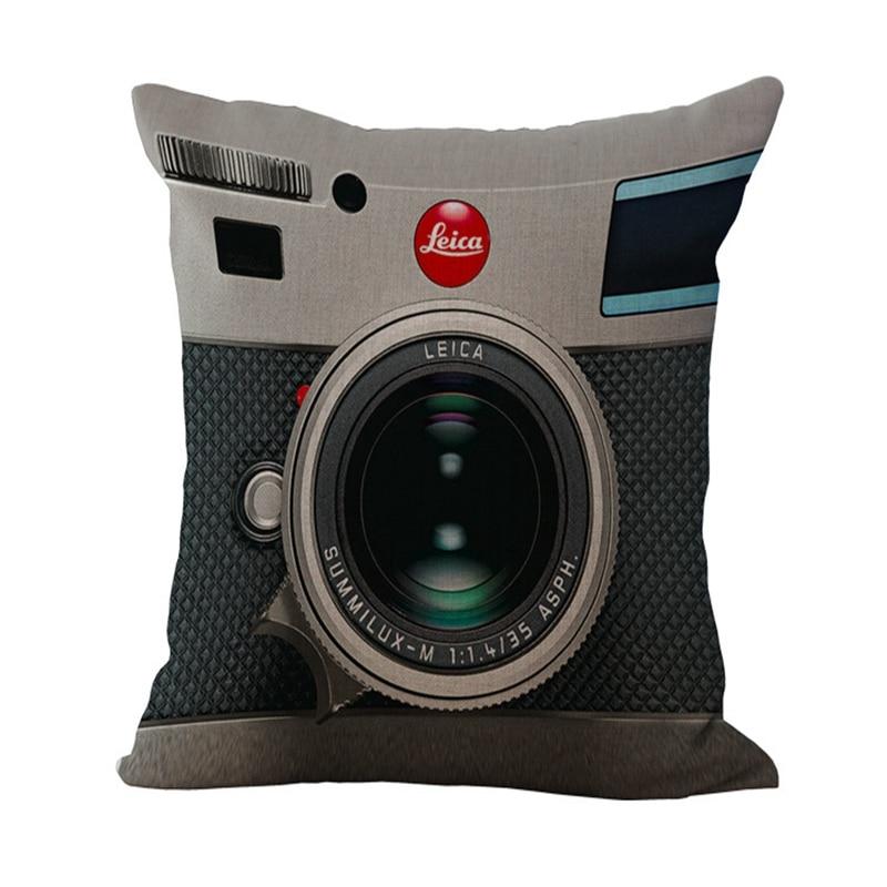 2015 Nueva Cámara 3D Funda de Cojín Moda Creativa Cuerpo Funda de - Textiles para el hogar