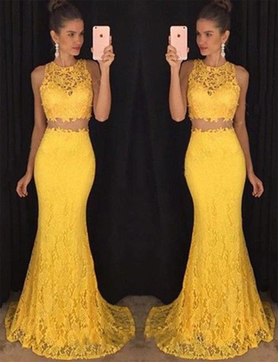 Look - Prom Elegant dresses mermaid pictures video