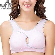 Retail cotton sports-type breast-feeding pregnant women bra braze-style girls sleep bra maternity pregnancy clothes