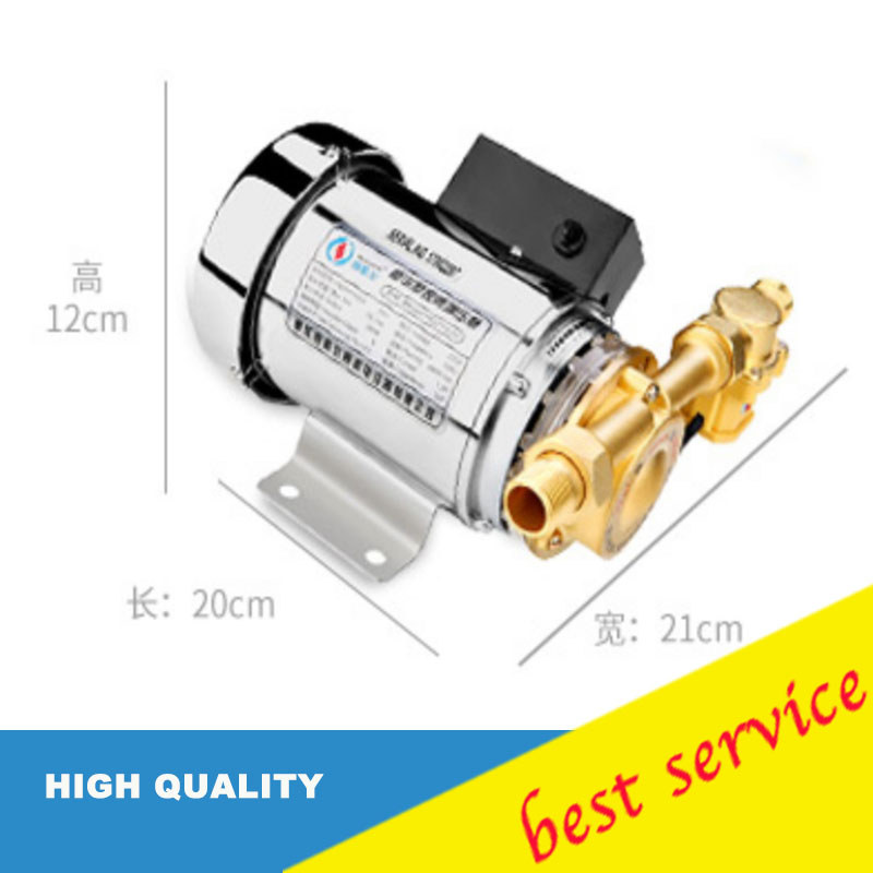 280W mini household booster water pump water pressure booster pump water circulation pressure pump for shower heating water pressure booster pump reorder rate up to 80% water circulation pressure pump for shower heating