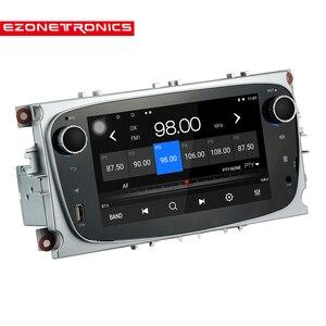 Image 2 - Android 8.1 per Ford Messa A Fuoco Mondeo Galassia S max Car Stereo Autoradio 2GB DDR3 Octa Core 7 Schermo tocco GPS Bluetooth Headunit WiFi