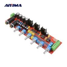 AIYIMA PT2399 מיקרופון טון לוח מגבר קדם מגבר קריוקי בסדר הדהוד מודול NE5532 טון התאמת נפח שליטה