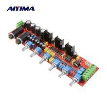 AIYIMA PT2399 ميكروفون لهجة مجلس مكبر للصوت مكبر للصوت كاريوكي موافق صدى وحدة NE5532 لهجة تعديل التحكم في مستوى الصوت