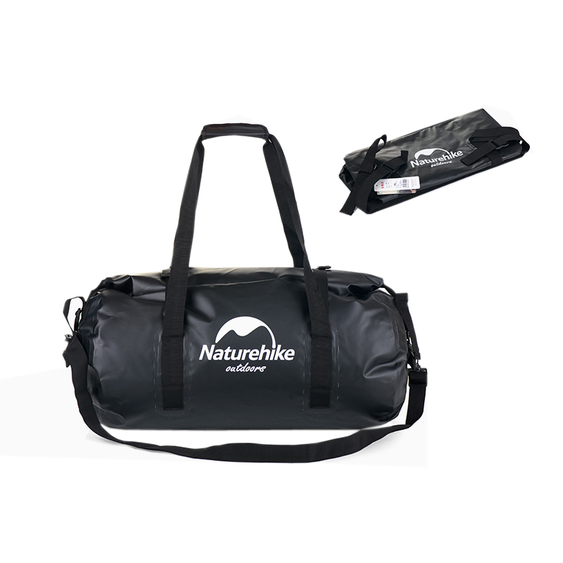 90L naturel randonnée sac étanche sac sec sport natation navigation de plaisance, Camping et kayak noir rouge sac sec de haute qualité Marine Grade