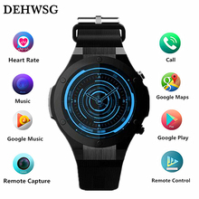 DEHWSG H2 smart watch Android 5.1 MTK6580 ROM 16G RAM 1G wrist watch men support Wifi GPS 5M Camera Heart Rate wearable devices