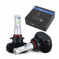 2pcs 9005 Led 9006 H11 Car LED Headlight Auto Headlamp 50W 8000LM Per Set 6500K Automobile