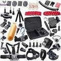 Gopro Accessories kit Floating Handle Grip Tripod Mount Adapter for gopro hero5 5S 4 3+ 2 sjcam SJ5000 xiaomi yi Camera GS33