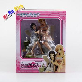 New Sword Art Online Asuna Yui 1/8 Scale Asuna & Yui Sword Art Online Pvc Action Figure Collectible Model Toy 20cm