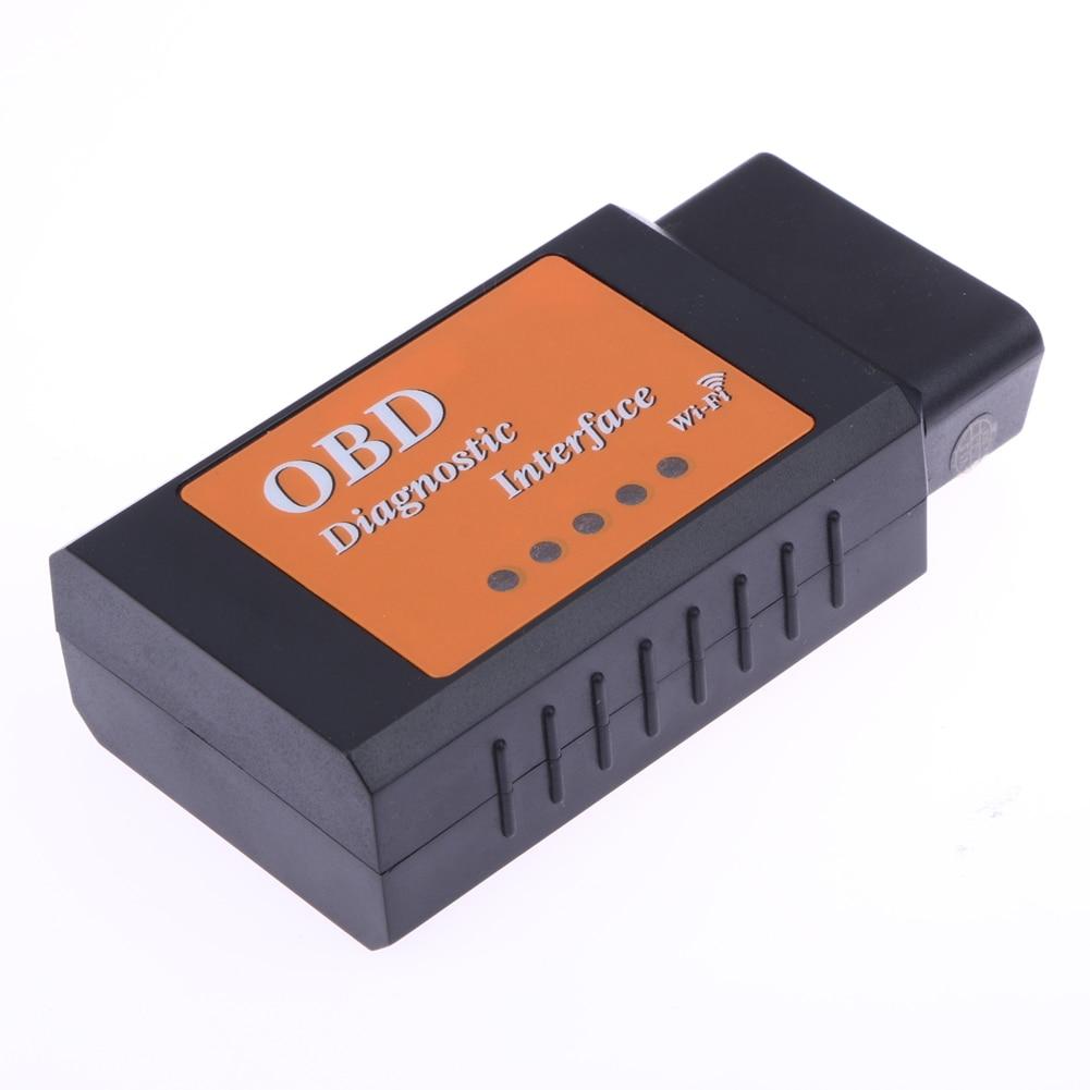 New OBD2 ELM327 V1.5 WIFI For Android IOS Windows OBD 2 II OBDII WI-FI Car Scanner Tool ELM 327 V 1.5 WI FI Scan