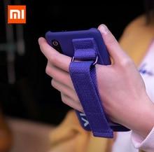 Orijinal Xiao mi 9 Kılıf sert çanta PC Bilek askı braketi Kapak Koruyucu mi nimalism arka kapak kılıfı Için Xiaomi mi 9 Polyester mi 9