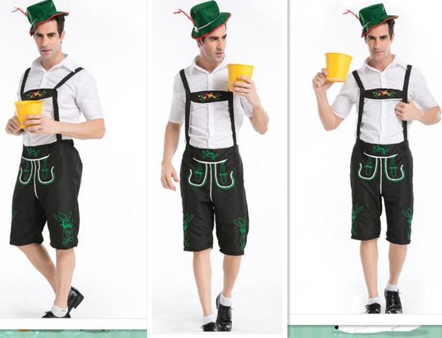 Halloween Costumes For Men Hot 4XL German Beer Costume Adult Oktoberfest Beer Festival Costume Mens carnival  sc 1 st  AliExpress.com & Halloween Costumes For Men Hot 4XL German Beer Costume Adult ...
