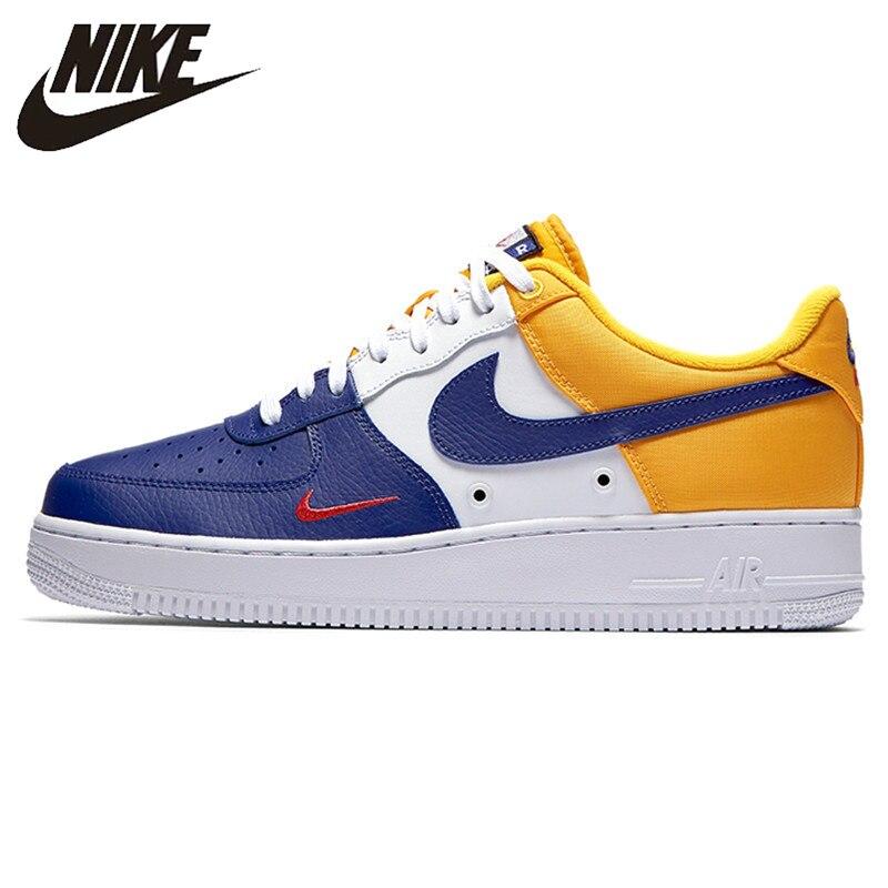 Nike Nuovo Arrivo Air Force 1 07 LV8 AF1 degli uomini Scarpe da pattini e skate Confortevole scarpe Da Tennis All'aperto 823511-404