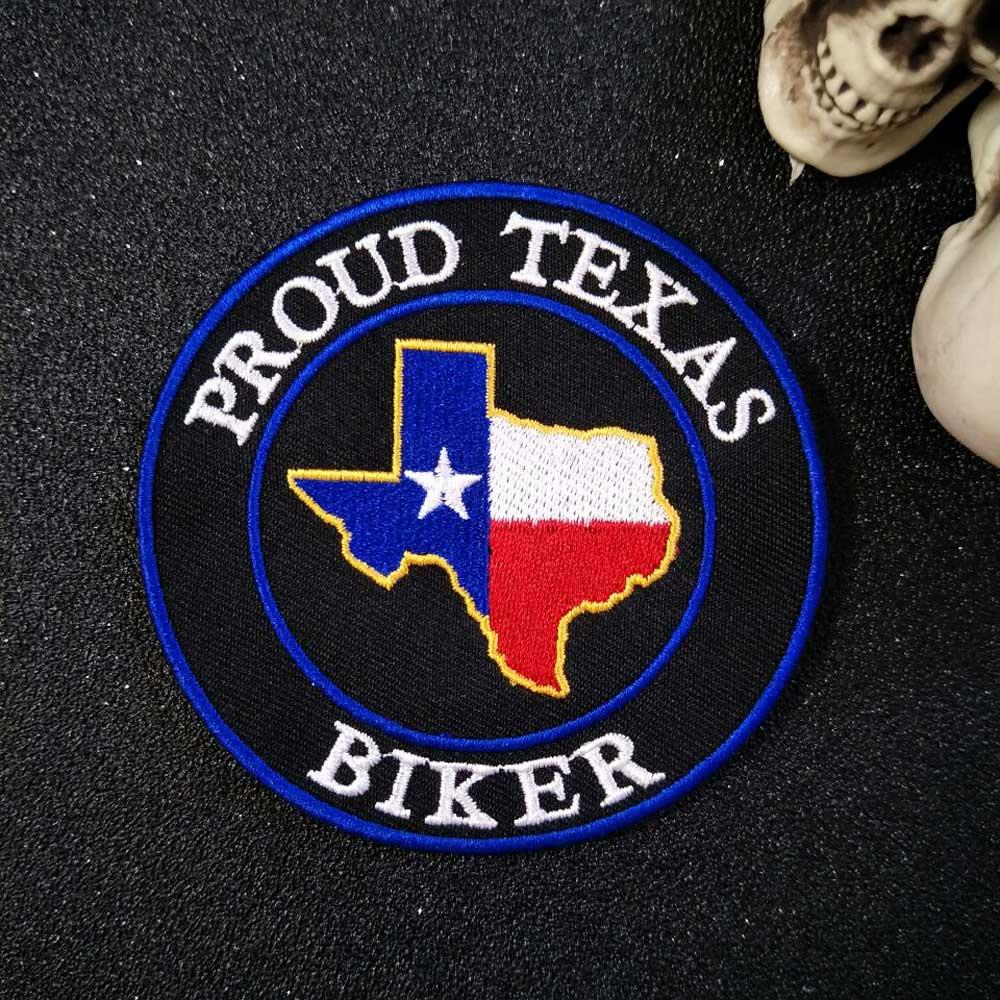 PROUD Texas Iron On Patch Ասեղնագործված - Արվեստ, արհեստ և կարի - Լուսանկար 3