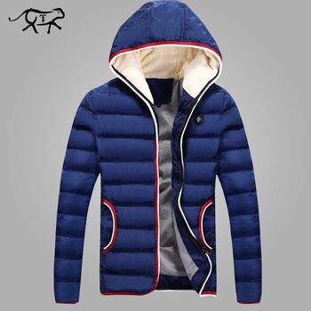 New 2018 Spring Winter Jacket Men Brand High Quality Casual Cotton Parkas Men Clothes Fashion Warm