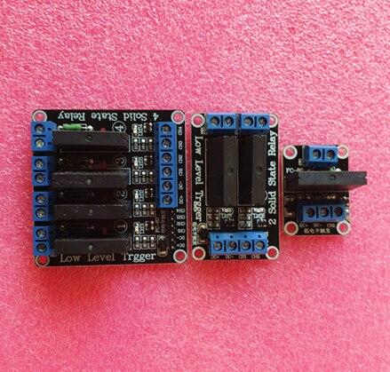 5 В в 1 канал SSR G3MB-202P твердотельные реле модуль 240 В 2A выход с резистивный предохранитель