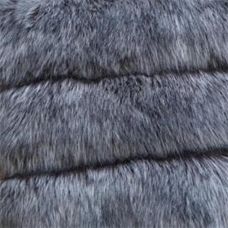 2019 Herbst Winter hochwertige flauschige Imitation Fuchspelz Weste - Damenbekleidung - Foto 6
