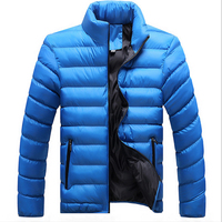2016 Winter Jacket Men New Down Cotton Blend Male Mens Winter Jackets Camperas Hombre And Coats