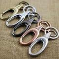two key rings waist hanging keychain key holder high quality carabiner key chain llaveros hombre retro portachiavi chaveiro