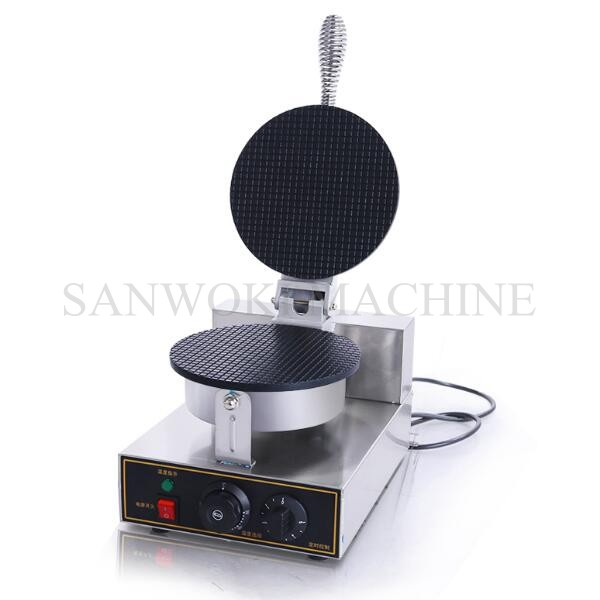 110V/ 220V Electric commercial ice cream cone waffle ...