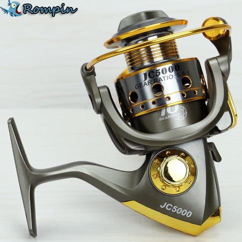 2017 new model Spool fishing reel Aluminum Spinning fly rock fishing reels bait casting boat wheel