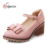 Spring New Women Shoe Fashion Women S Pumps Party Ladies Bowtie Sweet Girl S Pumps 4