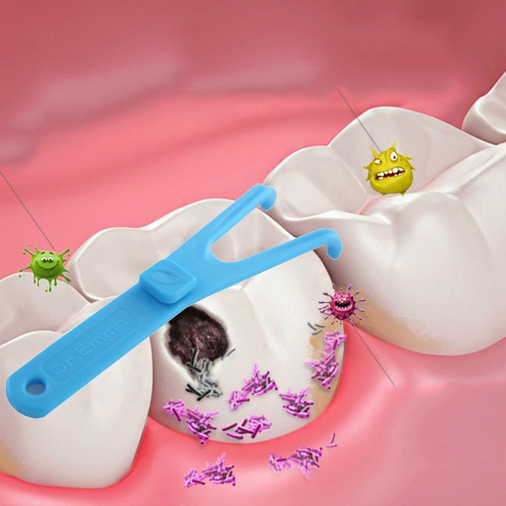 Y-образный стоматологический держатель для зубной нити устройство для чистки зубов