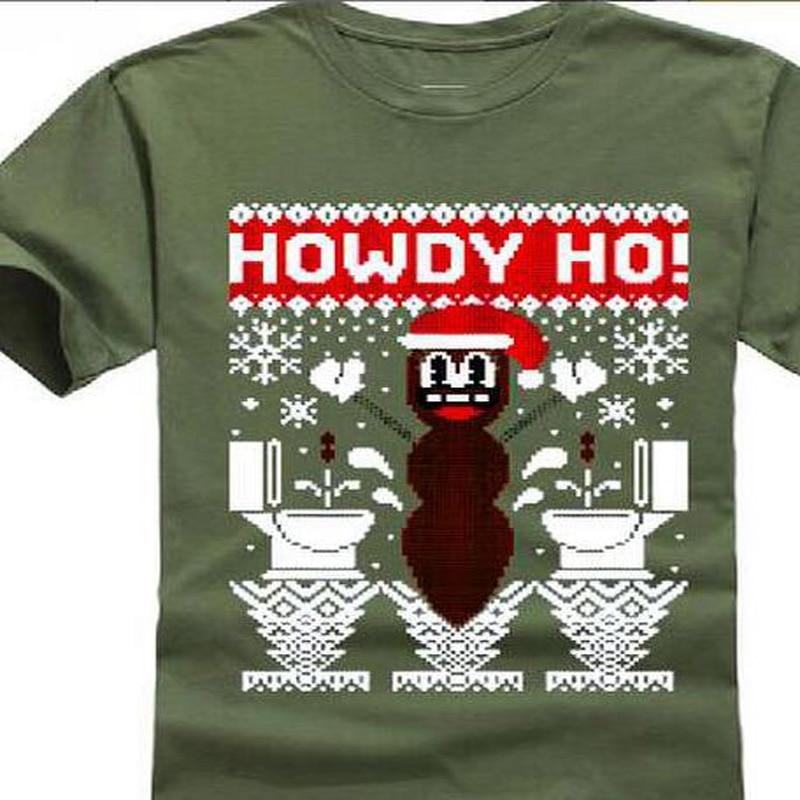 Hankey The Christmas Poo.2018 New 100 Cotton Men Mr Hankey The Christmas Poo T Shirt Print Shirts Summer Style
