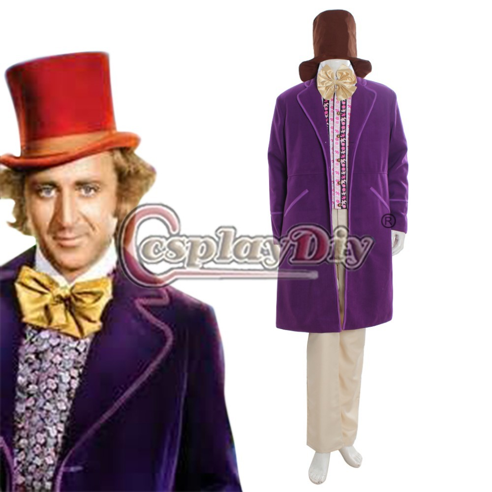 Popular Willy Wonka Costume-Buy Cheap Willy Wonka Costume ...