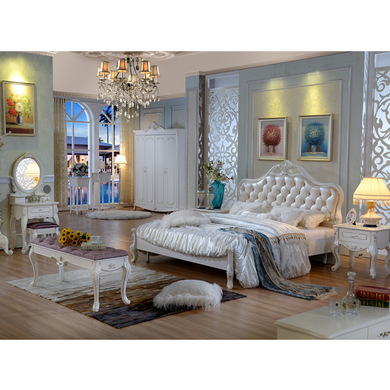 Modern Bedroom Furniture Fabric Good Quality Customized Bedroom
