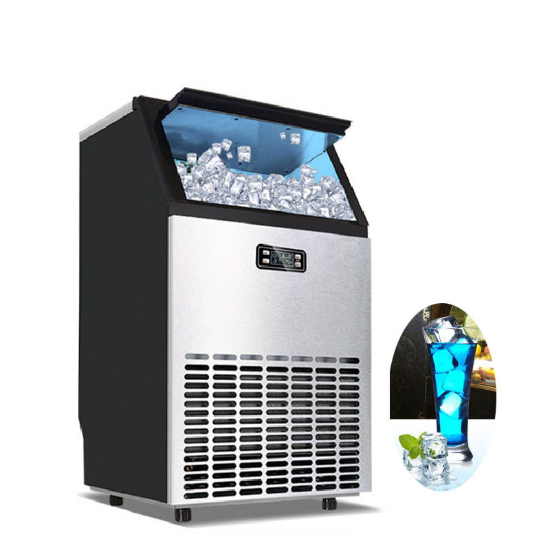 Jamielin Commercial Industrial Square Ice Block Making Machine Ice Cube Maker Business Machinery Square Ice Maker