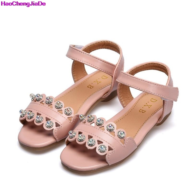 c69883faf HaoChengJiaDe Nova Calçados Infantis Sandálias Meninas Sandálias de Verão  Da Criança Do Bebê Macio Sapatos Da