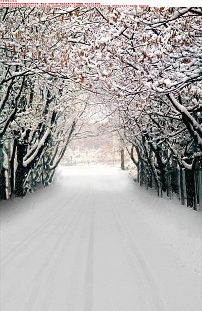 200Cm*150Cm Fundo Tree Snow Ground3D Baby Photography Backdrop Background Lk 2145 стоимость