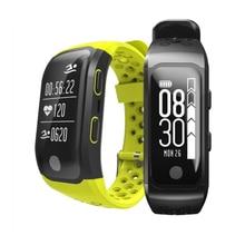 Новый S908 GPS Smart Band IP68 Водонепроницаемый спортивная группа Bluetooth 4.2 сердечного ритма Мониторы Шагомер напоминание умный Браслет