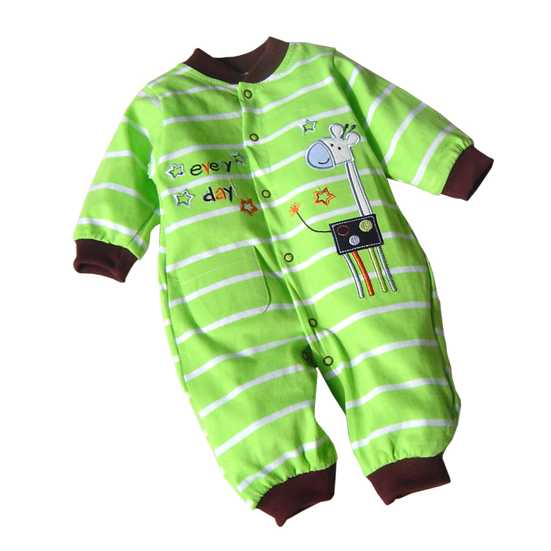 2017 Baby Rompers Long Sleeve Newborn Baby Clothing for Boys Girls Clothes Winter Romper Overalls Ropa Bebes Cotton Baby Costume baby clothes new hot long sleeve newborn infantil boys kids 100% cotton for boys girls rompers winter spring autumn boy clothing