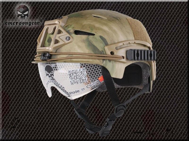 Prix pour NOUVEAU Emerson EXF BUMP Casque avec Protecteur Goggle Pararescue aller Type de casque Militaire Tactique Airsoft casque Livraison Gratuite