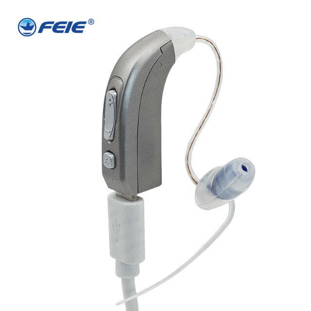 Digital hearing aids programmable enhancing sound hearing aid for the elderly deaf BTE high power super quiet ear aid MY-33 купить в Москве 2019