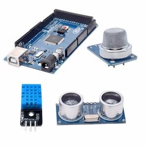 Image 2 - Free shipping Super Mega 2560 Starter Kit for Arduino 1602LCD RFID Relay Motor Buzzer