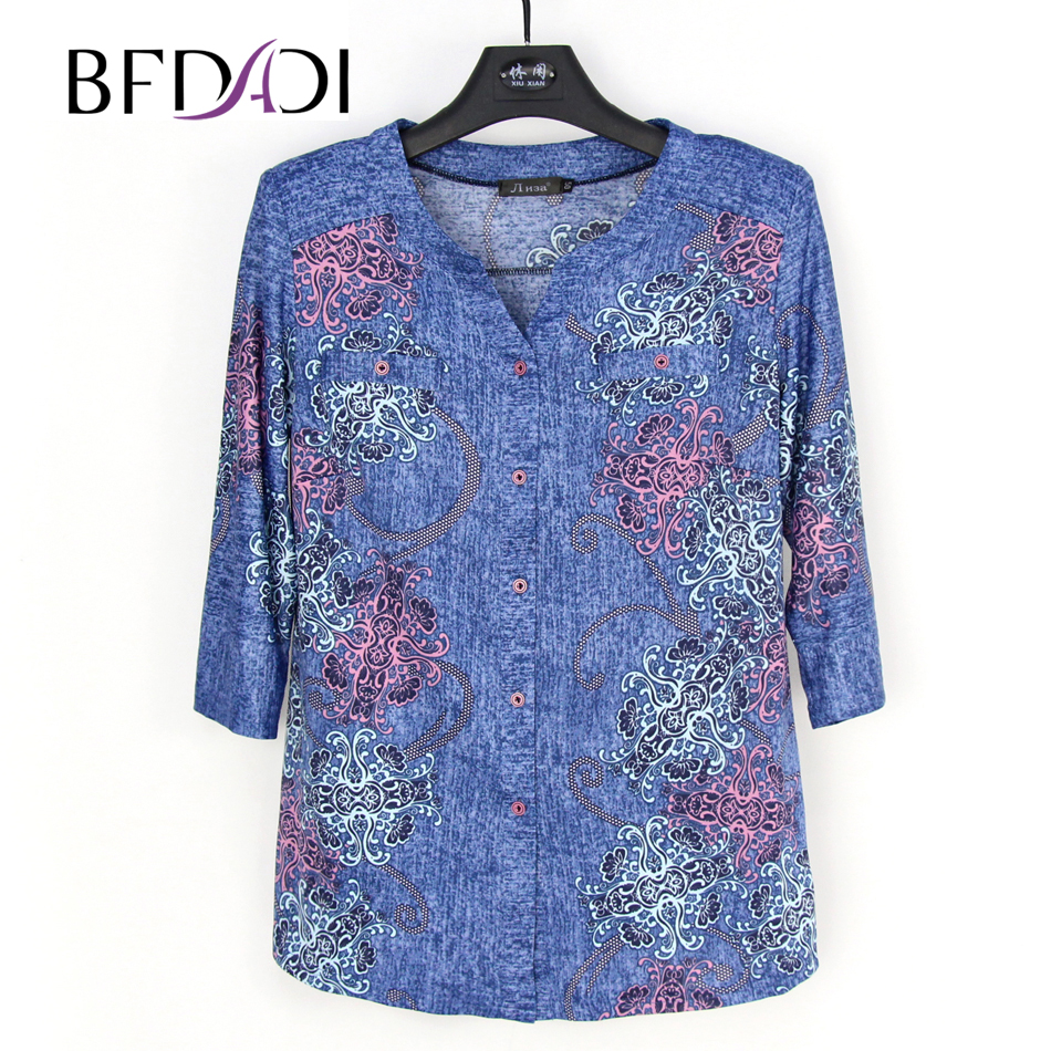 bfdadi 2016 new autumn fashion retro printing women t
