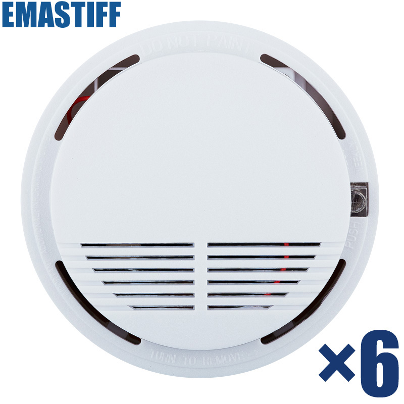 433MHz Portable Alarm Sensors Wireless Fire Smoke sensor for all of home security alarm system in our store smoke detector Alarm wireless vibration break breakage glass sensor detector 433mhz for alarm system