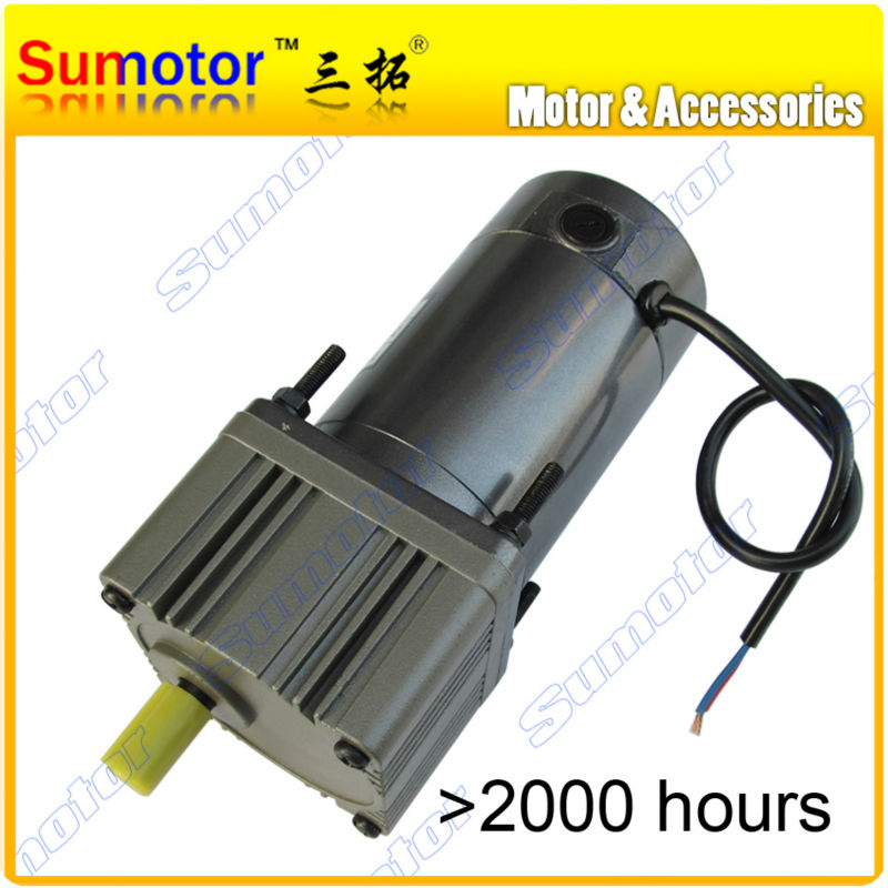 DC 24V 30W  High Torque gear reducer DC Motor Eletric machinery for Industry machine reversible adjustable speed optional купить дешево онлайн