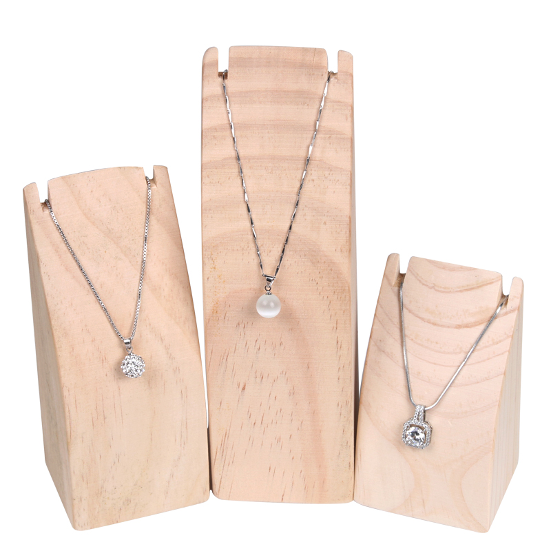 Arc Shape Wood Pendant Display Stand Jewelry Neckalace Display Organizer Necklace Holder Pendant Storage For Jewelry Store Jewelry Packaging Display Aliexpress
