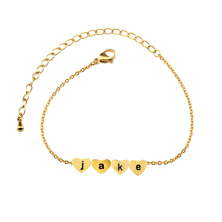 Armbanden Voor Vrouwen a b c d e f g h i j k l m n o p q r s t u v w x y z Personalized Bracelet for Women Gold Bridesmaid Gift