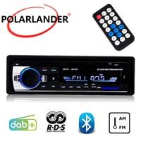 Autoradio Audio MP3 radio cassette player DAB+ Car Stereo 1 DIN Bluetooth Car Radio RDS LCD Dispaly USB And SD Card Slot FM AM