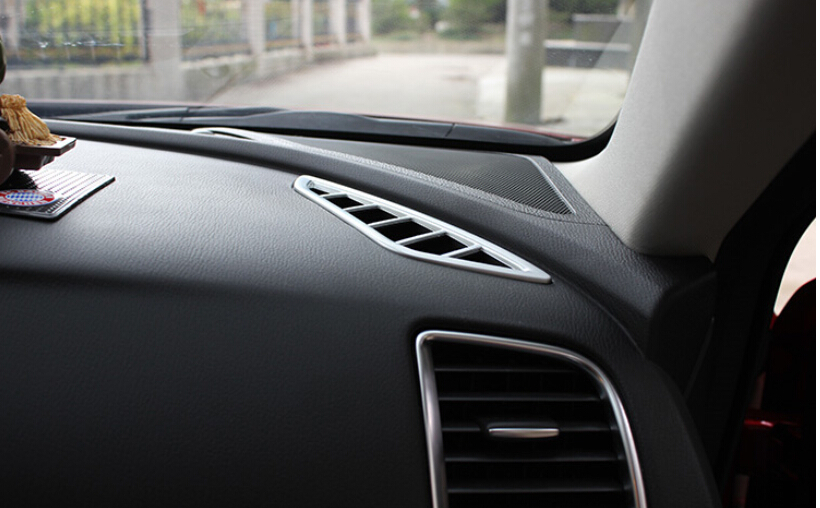ABS Chrome MATT AC Air outlet frame Cover Trim Mazda 6 M6 Atenza 2015 2014 2013 - high flying trade store