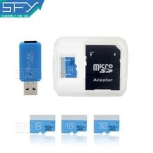 2016 New Fashion SFY High Speed Real Capacity Blue Love 8GB 16GB 32GB Memory Card TF