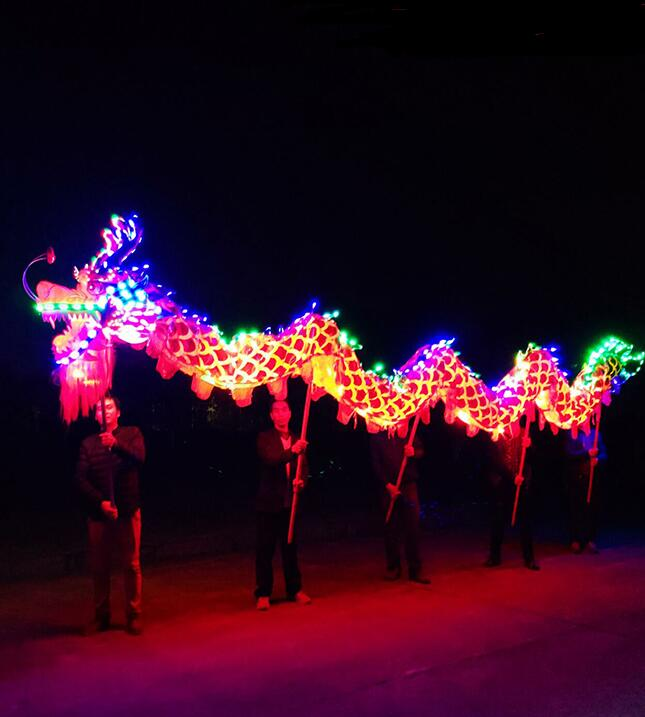 New Chinese Traditions Dragon Dance Light Dragon Led Dragon Laser