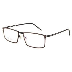 Image 4 - Gmei אופטי LF2022 מתכת מלא שפת מסגרת משקפיים לנשים וגברים Eyewear משקפיים