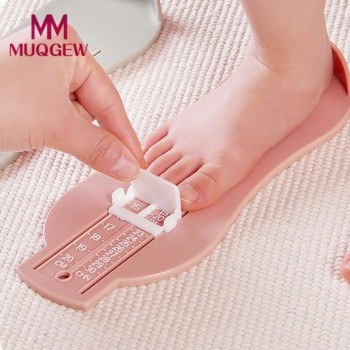 MUQGEW 2019 Children Baby Care Baby Kids Foot Shoe Size Measure Tool Infant Device Ruler Kit