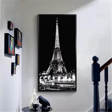 Diy Full Diamond Painting Cross Stitch Eiffel Tower Round Rhinestone Embroidery Animals Picture